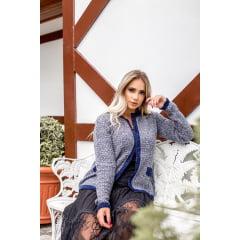 Casaco chanel tricot cecilia