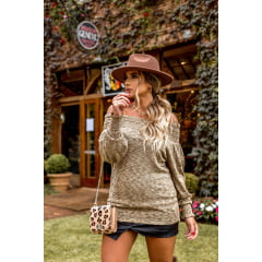 Blusa tricot ciganinha Joice
