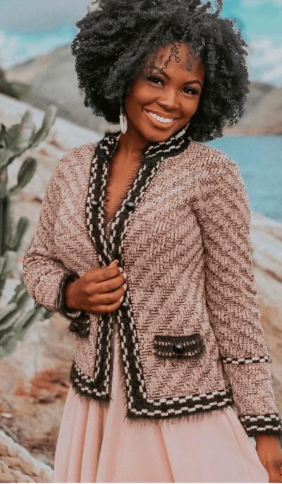 Casaco Fio de minas tricot feminino