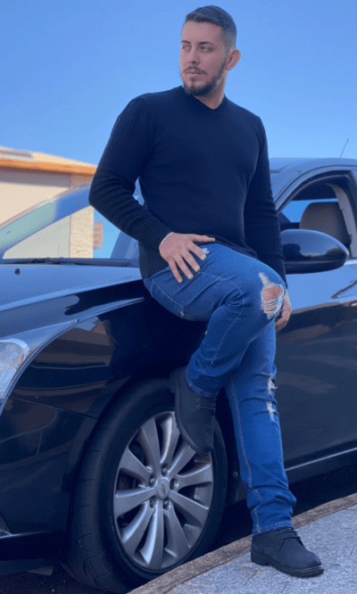 Blusa masculina Básica Pedro