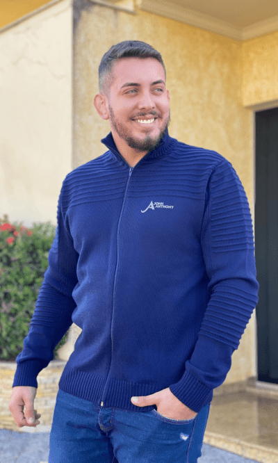 Jaqueta masculina jonh