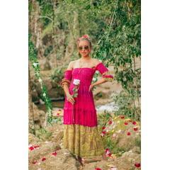 vestido tricot ciganinha leticia